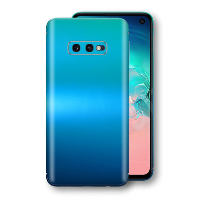 Samsung Galaxy S10e Chameleon Caribbean Skin Wrap Decal Cover by EasySkinz
