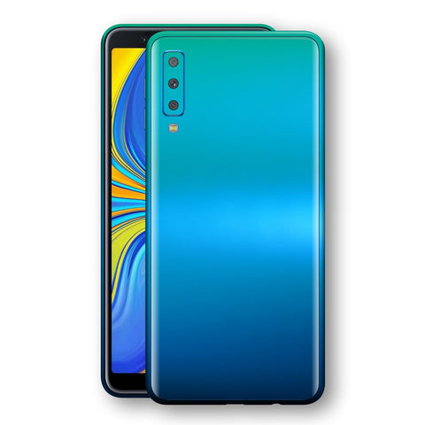Samsung Galaxy A7 (2018) Chameleon Caribbean Skin Wrap Decal Cover by EasySkinz