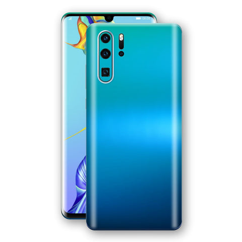 Huawei P30 PRO Chameleon Caribbean Skin Wrap Decal Cover by EasySkinz