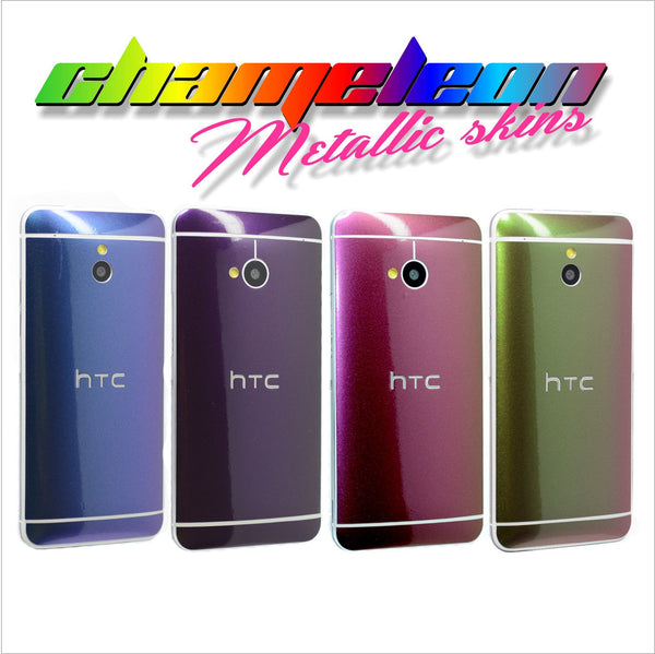 HTC One M7 CHAMELEON Skin Wrap Decal FULL BODY Cover Sticker Protector NOT CASE
