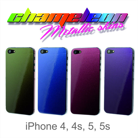 CHAMELEON Skin for iPhone 4 4S 5 5S