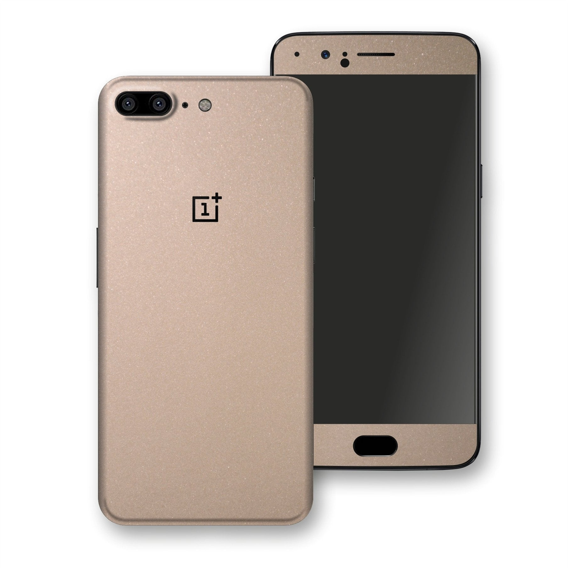 OnePlus 5 Champagne Gold Glossy Metallic Skin, Decal, Wrap, Protector, Cover by EasySkinz | EasySkinz.com