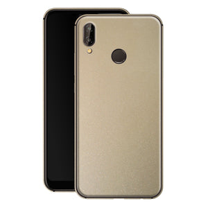 Huawei P20 LITE Champagne Gold Metallic Glossy Gloss Finish Skin, Decal, Wrap, Protector, Cover by EasySkinz | EasySkinz.com