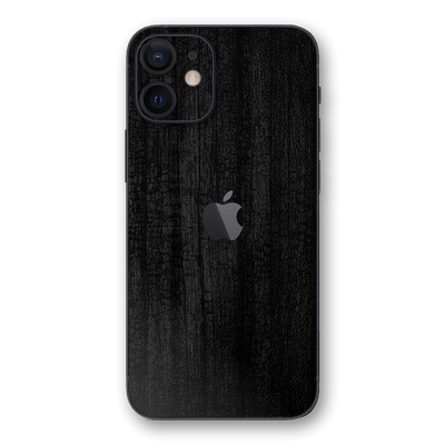 iPhone 12 Black CHARCOAL 3D Textured Skin Wrap Sticker Decal Cover Protector by EasySkinz