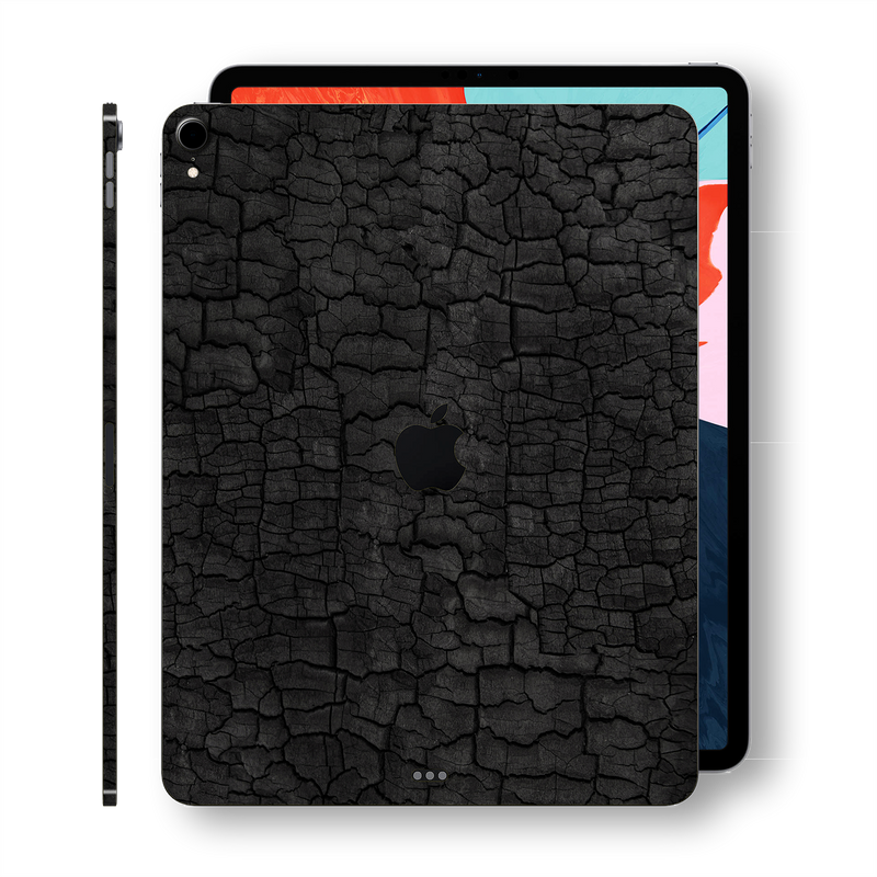 "iPad PRO 11"" inch 2018 Signature Charcoal Printed Skin Wrap Decal Protector 