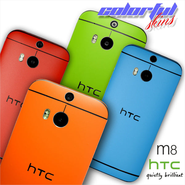 HTC ONE M8 COLORFUL MATT Finish Skin