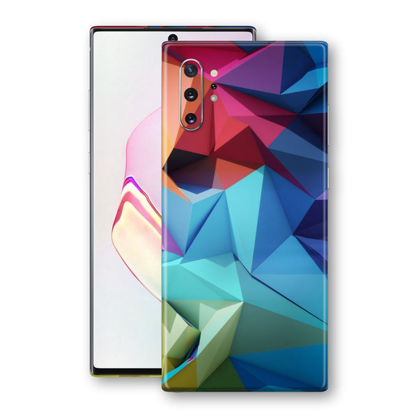 Samsung Galaxy NOTE 10+ PLUS Signature Abstract Geometry Skin Wrap Decal Protector | EasySkinz