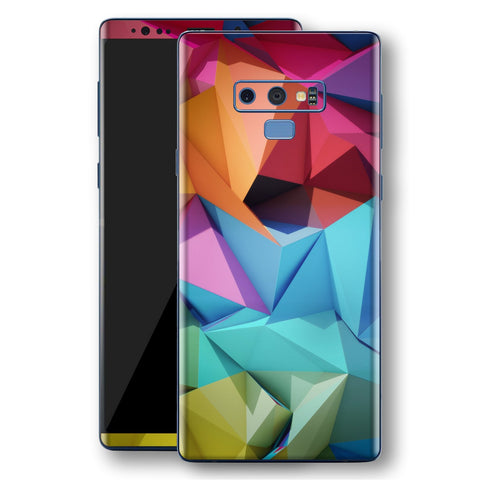 Samsung Galaxy NOTE 9 Signature Abstract Geometry Skin Wrap Decal Protector | EasySkinz
