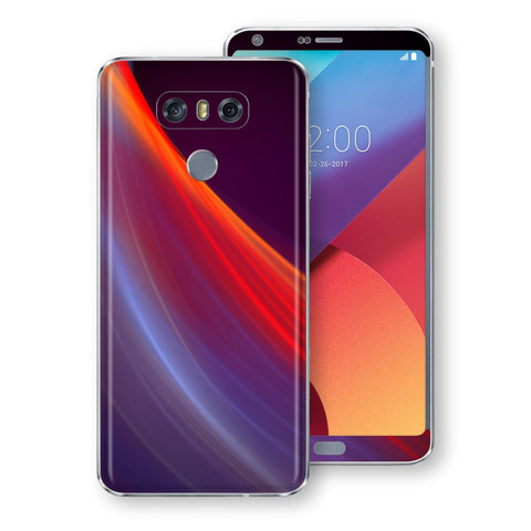 LG G6 Signature Colour Waves Skin Wrap Decal by EasySkinz
