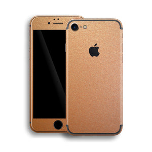iPhone 7 Copper Matt Matte Metallic Skin, Wrap, Decal, Protector, Cover by EasySkinz | EasySkinz.com