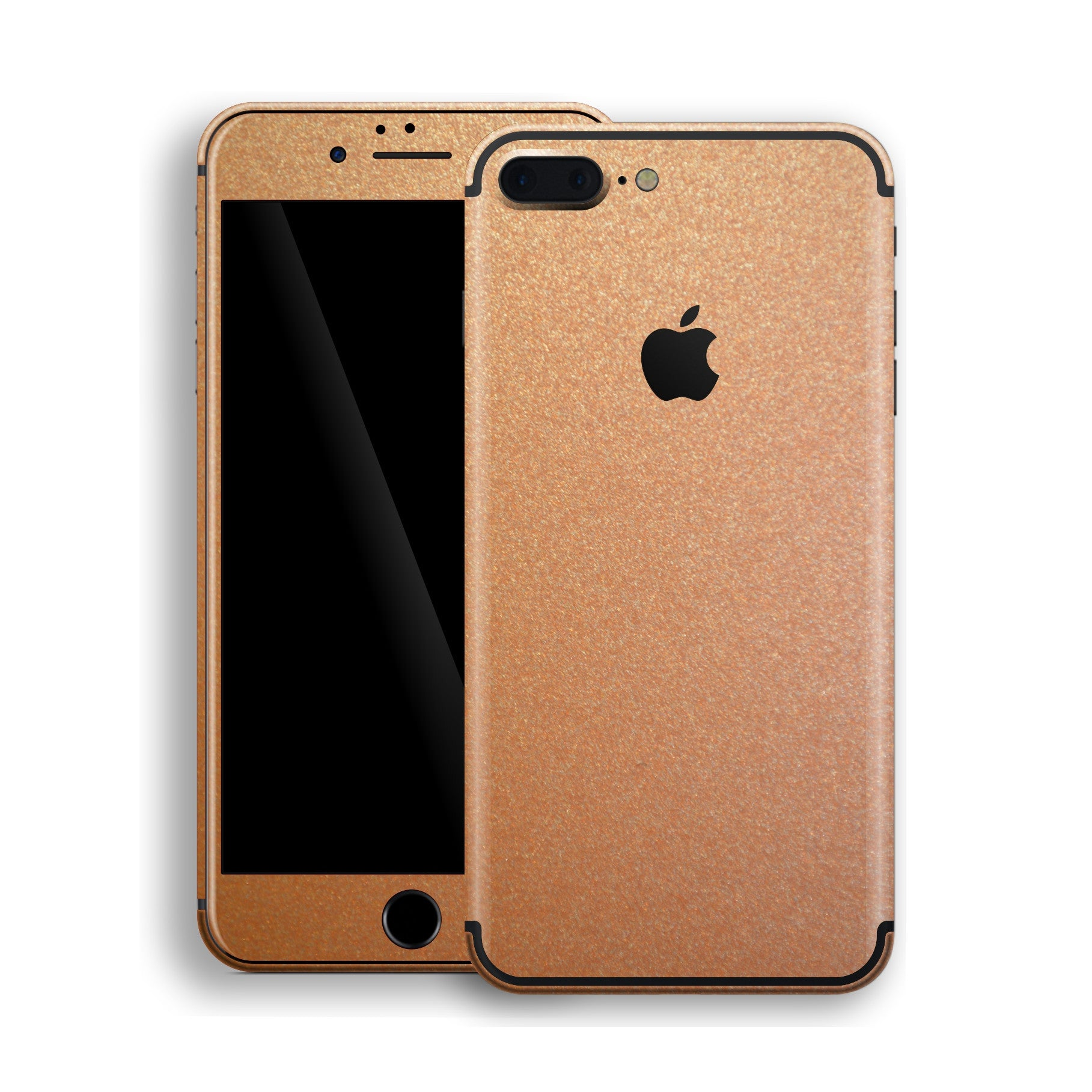iPhone 7 Plus Copper Matt Metallic Skin, Decal, Wrap, Protector, Cover by EasySkinz | EasySkinz.com