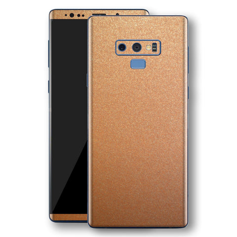 Samsung Galaxy NOTE 9 Copper Matt Metallic Skin, Decal, Wrap, Protector, Cover by EasySkinz | EasySkinz.com