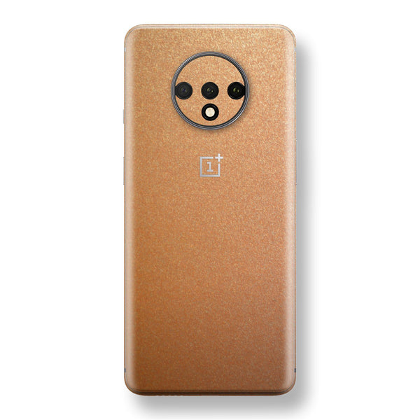 OnePlus 7T Copper Matt Metallic Skin, Decal, Wrap, Protector, Cover by EasySkinz | EasySkinz.com