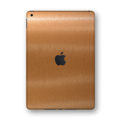 "iPad 10.2"" (8th Gen, 2020) Brushed Copper Metallic Skin Wrap Sticker Decal Cover Protector by EasySkinz"