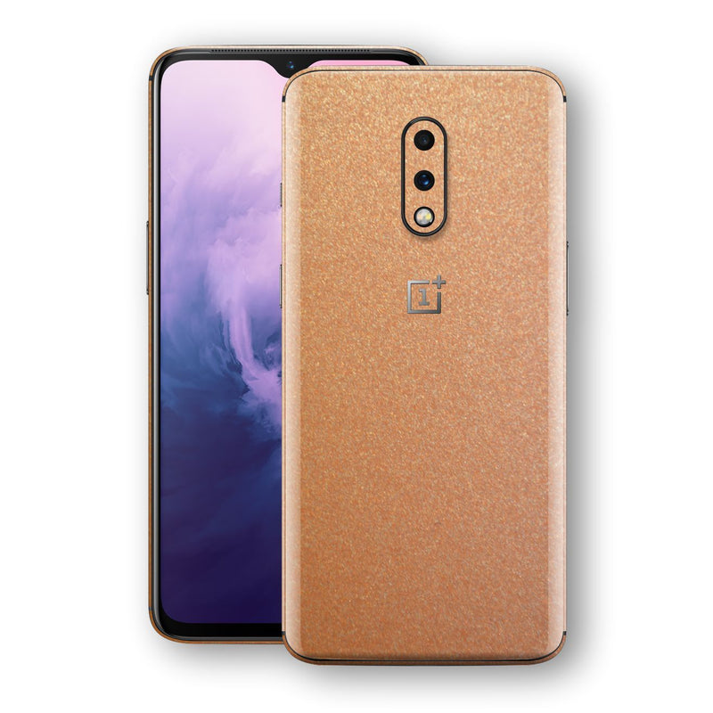OnePlus 7 Copper Matt Metallic Skin, Decal, Wrap, Protector, Cover by EasySkinz | EasySkinz.com