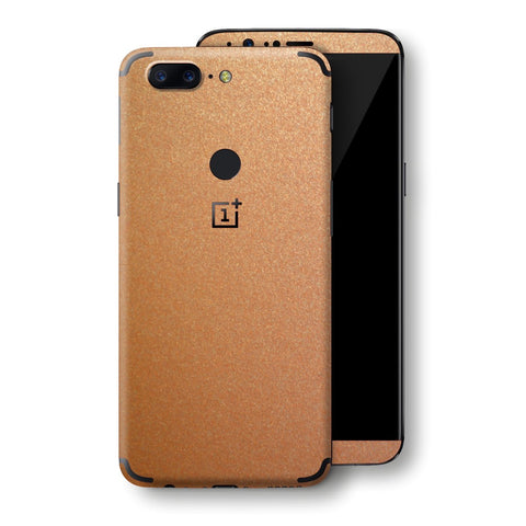 OnePlus 5T Copper Matt Metallic Skin, Decal, Wrap, Protector, Cover by EasySkinz | EasySkinz.com