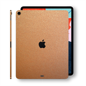 iPad PRO 12.9 inch 3rd Generation 2018 Matt Matte 3M Copper Metallic Skin Wrap Sticker Decal Cover Protector by EasySkinz