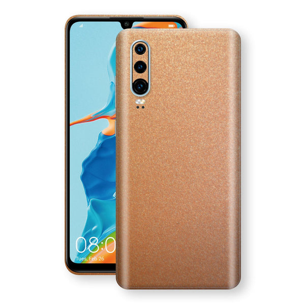 Huawei P30 Copper Matt Metallic Skin, Decal, Wrap, Protector, Cover by EasySkinz | EasySkinz.com