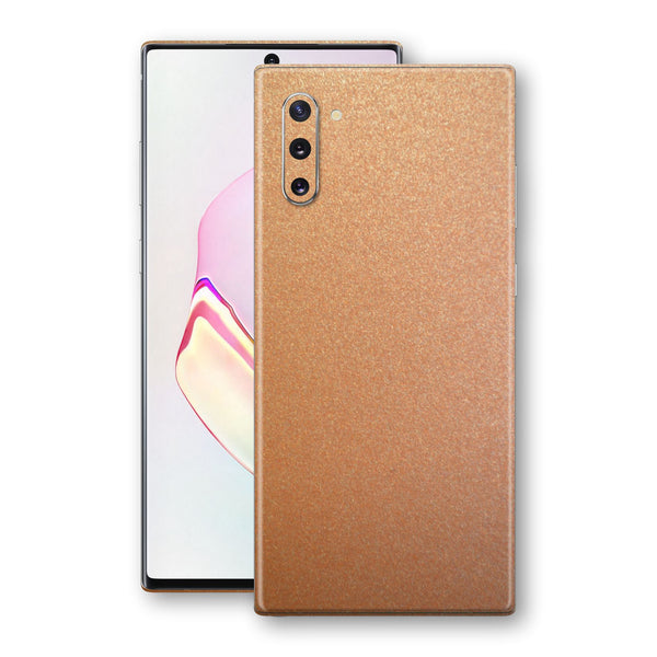 Samsung Galaxy NOTE 10 Copper Matt Metallic Skin, Decal, Wrap, Protector, Cover by EasySkinz | EasySkinz.com