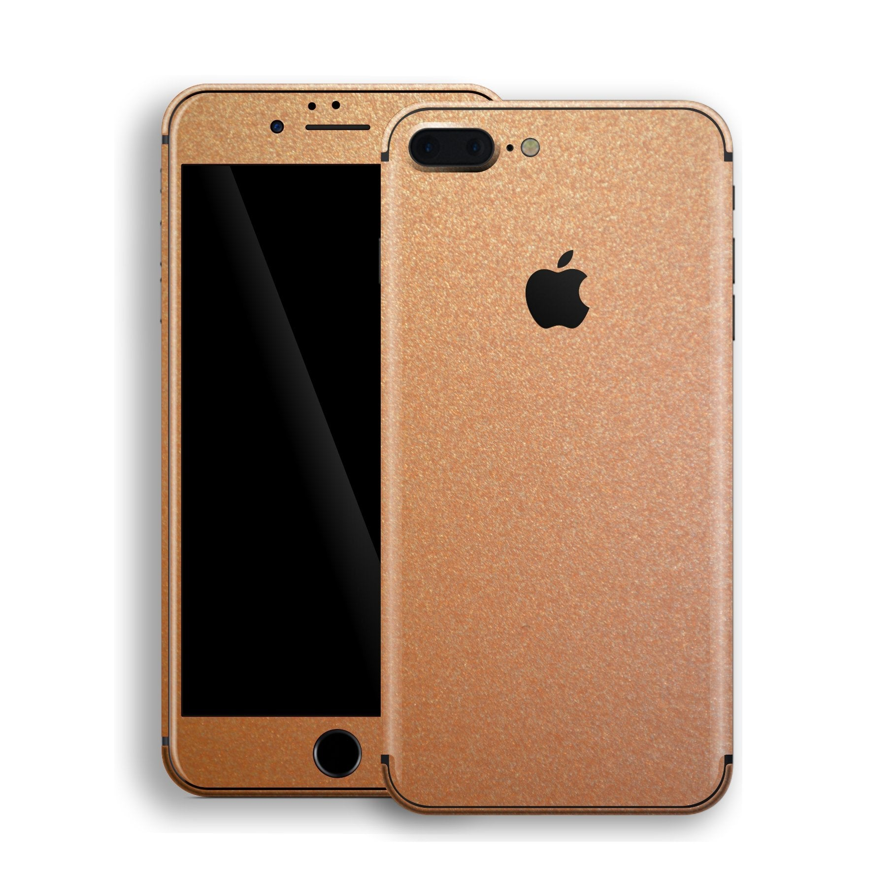 iPhone 8 Plus Copper Matt Metallic Skin, Decal, Wrap, Protector, Cover by EasySkinz | EasySkinz.com