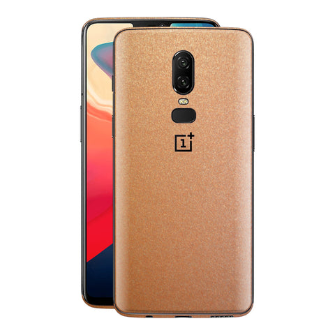 OnePlus 6 Copper Matt Metallic Skin, Decal, Wrap, Protector, Cover by EasySkinz | EasySkinz.co