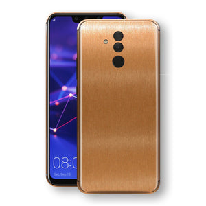 Huawei MATE 20 LITE Brushed Copper Metallic Metal Skin, Decal, Wrap, Protector, Cover by EasySkinz | EasySkinz.com