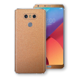 LG G6 Copper Matt Metallic Skin, Decal, Wrap, Protector, Cover by EasySkinz | EasySkinz.com