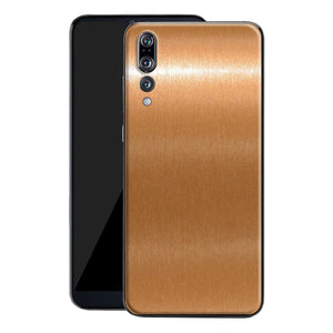Huawei P20 PRO Brushed Copper Metallic Metal Skin, Decal, Wrap, Protector, Cover by EasySkinz | EasySkinz.com