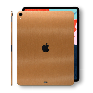 iPad PRO 11-inch 2018 3M Brushed Copper Metallic Skin Wrap Sticker Decal Cover Protector by EasySkinz
