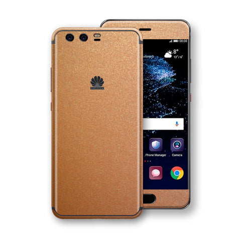 Huawei P10  Copper Matt Metallic Skin, Decal, Wrap, Protector, Cover by EasySkinz | EasySkinz.com