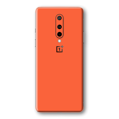OnePlus 8 Glossy CORAL Skin Wrap Sticker Decal Cover Protector by EasySkinz