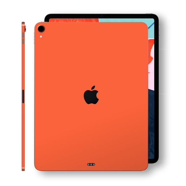 iPad PRO 11-inch 2018 Gloss Glossy CORAL Skin Wrap Sticker Decal Cover Protector by EasySkinz