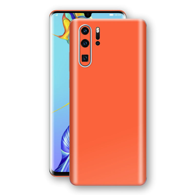Huawei P30 PRO Glossy CORAL Skin, Decal, Wrap, Protector, Cover by EasySkinz | EasySkinz.com