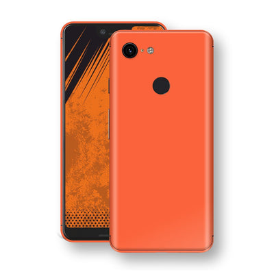 Google Pixel 3 XL Glossy CORAL Skin, Decal, Wrap, Protector, Cover by EasySkinz | EasySkinz.com