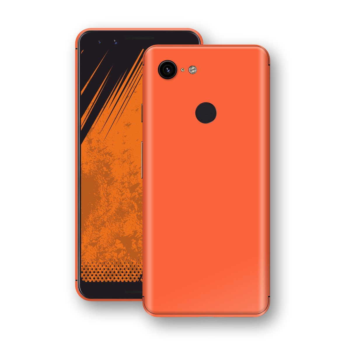 Google Pixel 3 Glossy CORAL Skin, Decal, Wrap, Protector, Cover by EasySkinz | EasySkinz.com