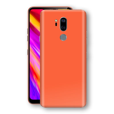 LG G7 ThinQ Glossy CORAL Skin, Decal, Wrap, Protector, Cover by EasySkinz | EasySkinz.com