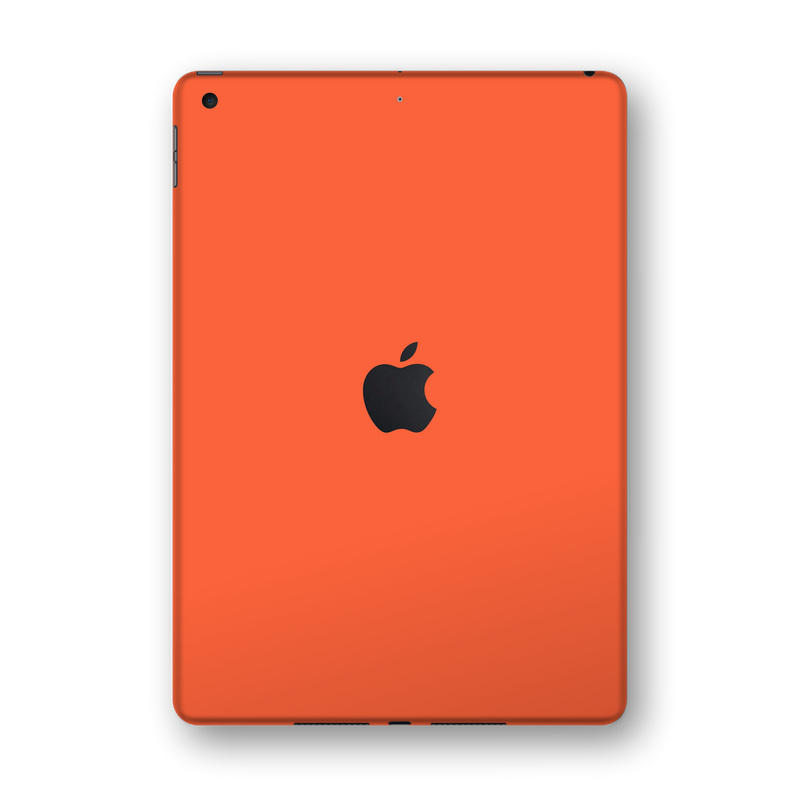 "iPad 10.2"" (7th Gen, 2019) Gloss Glossy CORAL Skin Wrap Sticker Decal Cover Protector by EasySkinz"