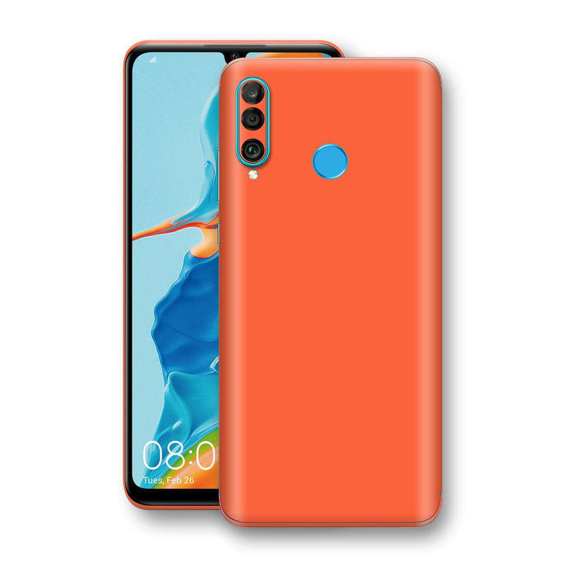 Huawei P30 LITE Glossy CORAL Skin, Decal, Wrap, Protector, Cover by EasySkinz | EasySkinz.com