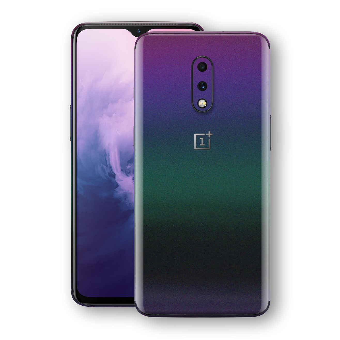 OnePlus 7 Chameleon DARK OPAL Skin Wrap Decal Cover by EasySkinz