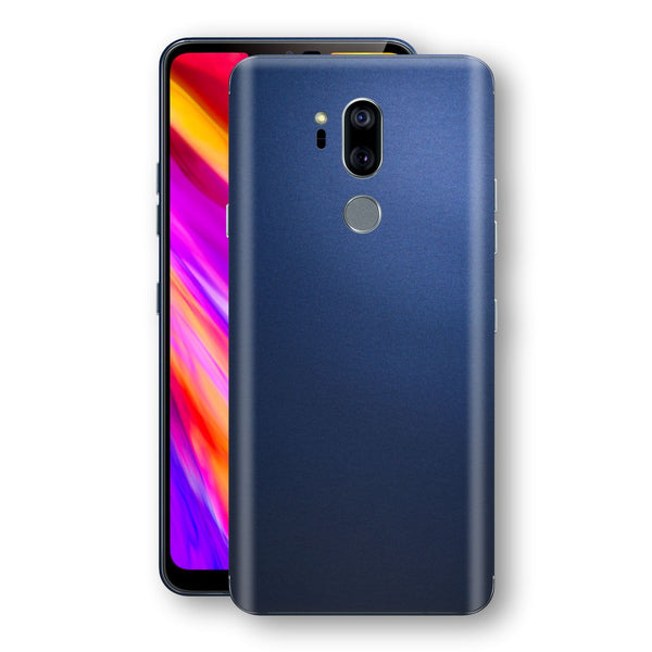 LG G7 ThinQ Deep Ocean Blue Matt Skin Wrap Decal Protector | EasySkinz