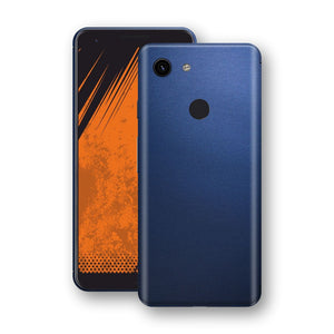 Google Pixel 3a XL Deep Ocean Blue Matt Skin Wrap Decal Protector | EasySkinz