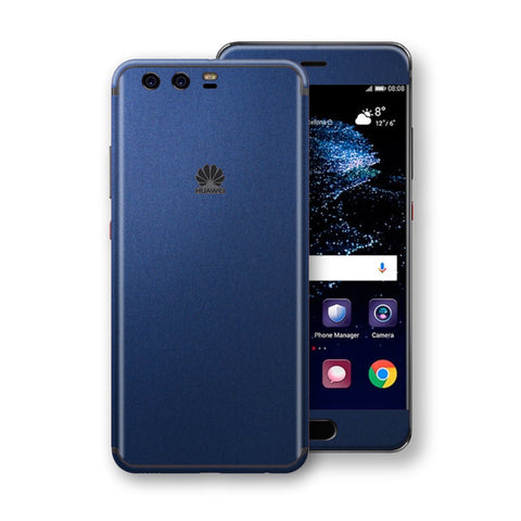 Huawei P10+ PLUS  Deep Ocean Blue Matt Skin Wrap Decal Protector | EasySkinz