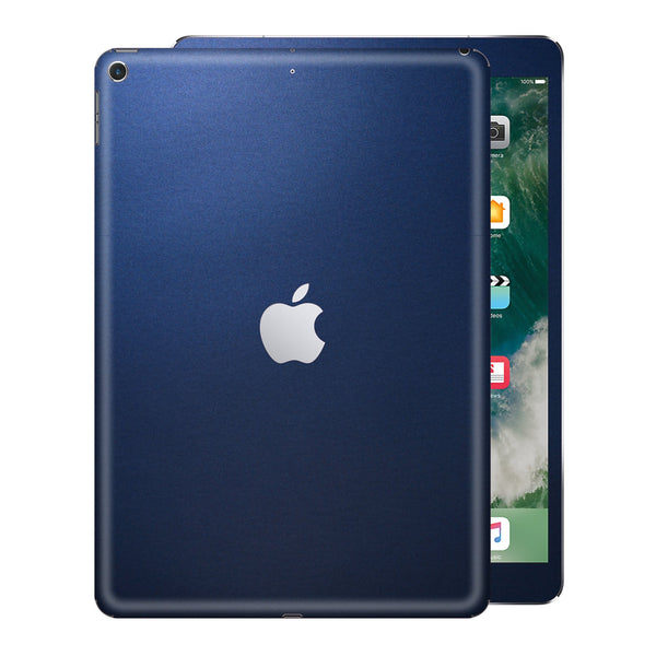 iPad 9.7 inch 2017 Matt Matte Deep Ocean Blue Skin Wrap Sticker Decal Cover Protector by EasySkinz