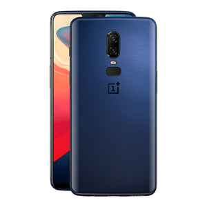 OnePlus 6 Deep Ocean Blue Matt Skin, Decal, Wrap, Protector, Cover by EasySkinz | EasySkinz.com