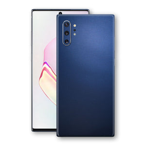 Samsung Galaxy NOTE 10+ PLUS Deep Ocean Blue Matt Skin Wrap Decal Protector | EasySkinz