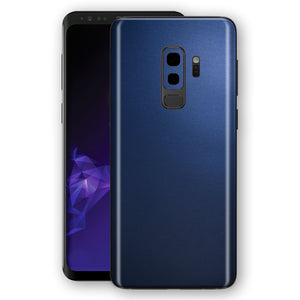 Samsung GALAXY S9+ PLUS Deep Ocean Blue Matt Skin Wrap Decal Protector | EasySkinz