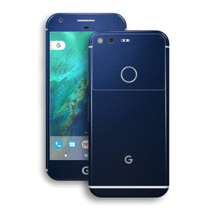 Google Pixel XL Deep Ocean Blue Matt Skin by EasySkinz
