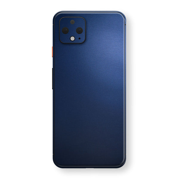 Google Pixel 4 XL Deep Ocean Blue Matt Skin Wrap Decal Protector | EasySkinz