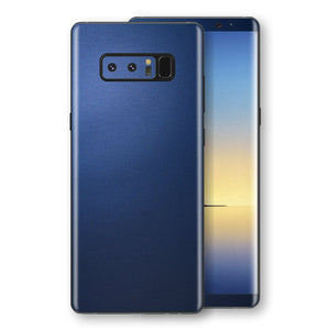 Samsung Galaxy NOTE 8 Deep Ocean Blue Matt Skin Wrap Decal Protector | EasySkinz