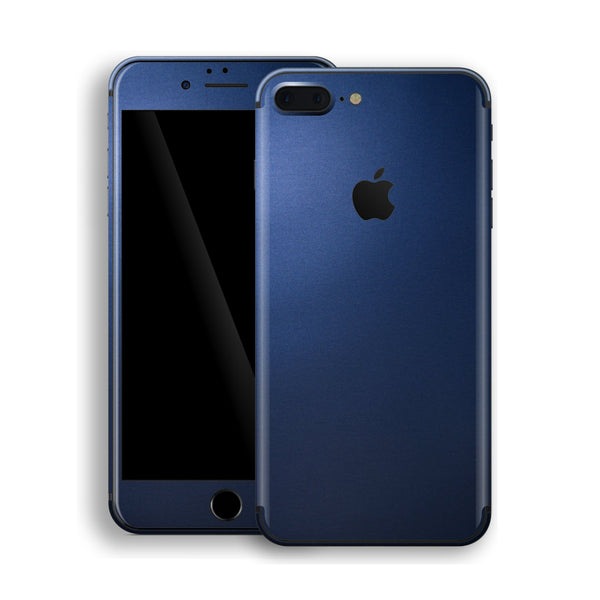 iPhone 8 Plus Deep Ocean Blue Matt Skin Wrap Decal Protector | EasySkinz
